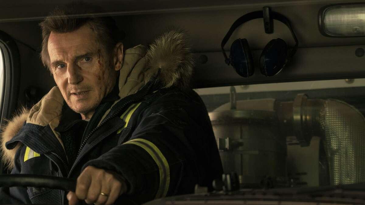 "Liam Neeson stars as Nels Coxmanin ""Cold Pursuit."""