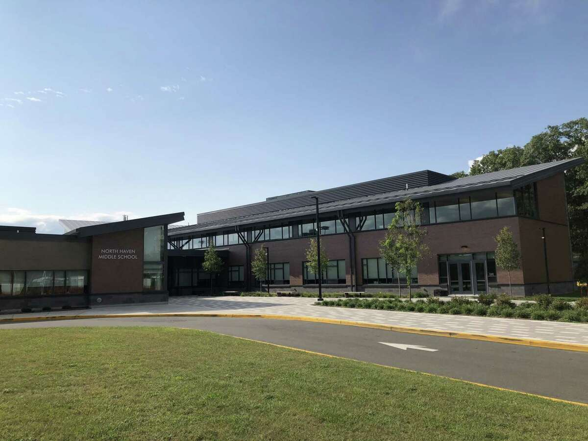 North Haven Middle School, located at 55 Bailey Road.