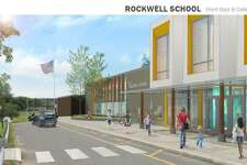 An architect's rendering of renovation plans for Rockwell in Bethel.