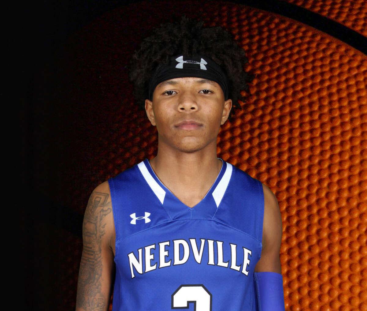 Needville High School basketball player Chris Grace.