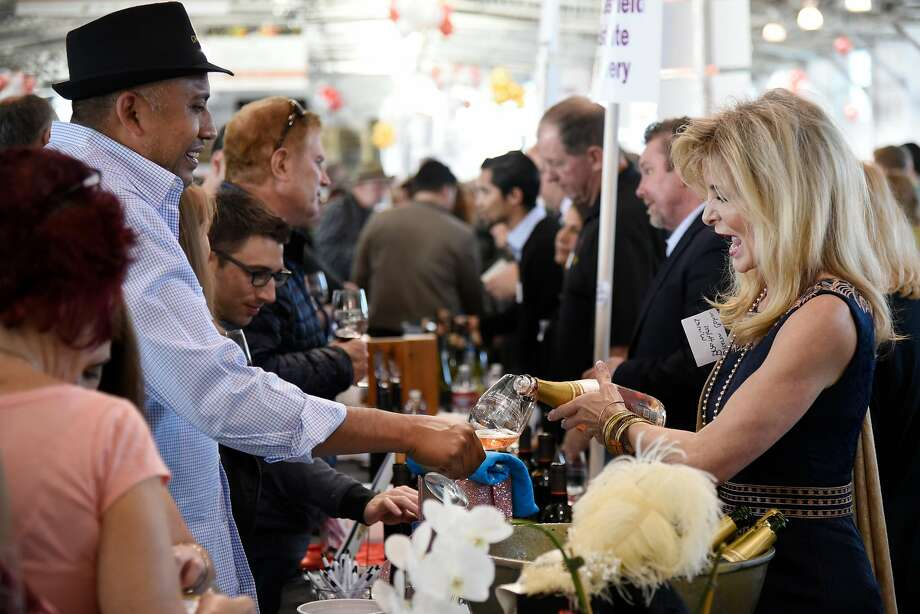 The annual San Francisco Chronicle Wine Competition Public Tasting will be from 1 to 4 p.m. Feb. 16 at the Fort Mason Center's Festival Pavilion in San Francisco. Photo: Michael Short