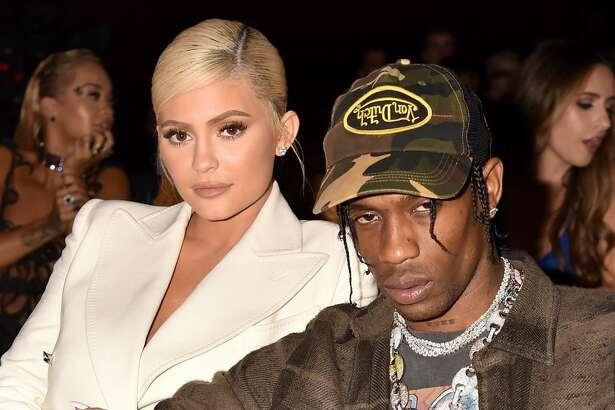 NEW YORK, NY - AUGUST 20: Kylie Jenner and Travis Scott attend the 2018 MTV Video Music Awards at Radio City Music Hall on August 20, 2018 in New York City. (Photo by Jeff Kravitz/FilmMagic)