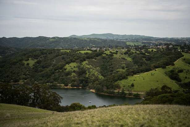 Lake Chabot is seen on Wednesday, April 4, 2018, in Castro Valley, CA.