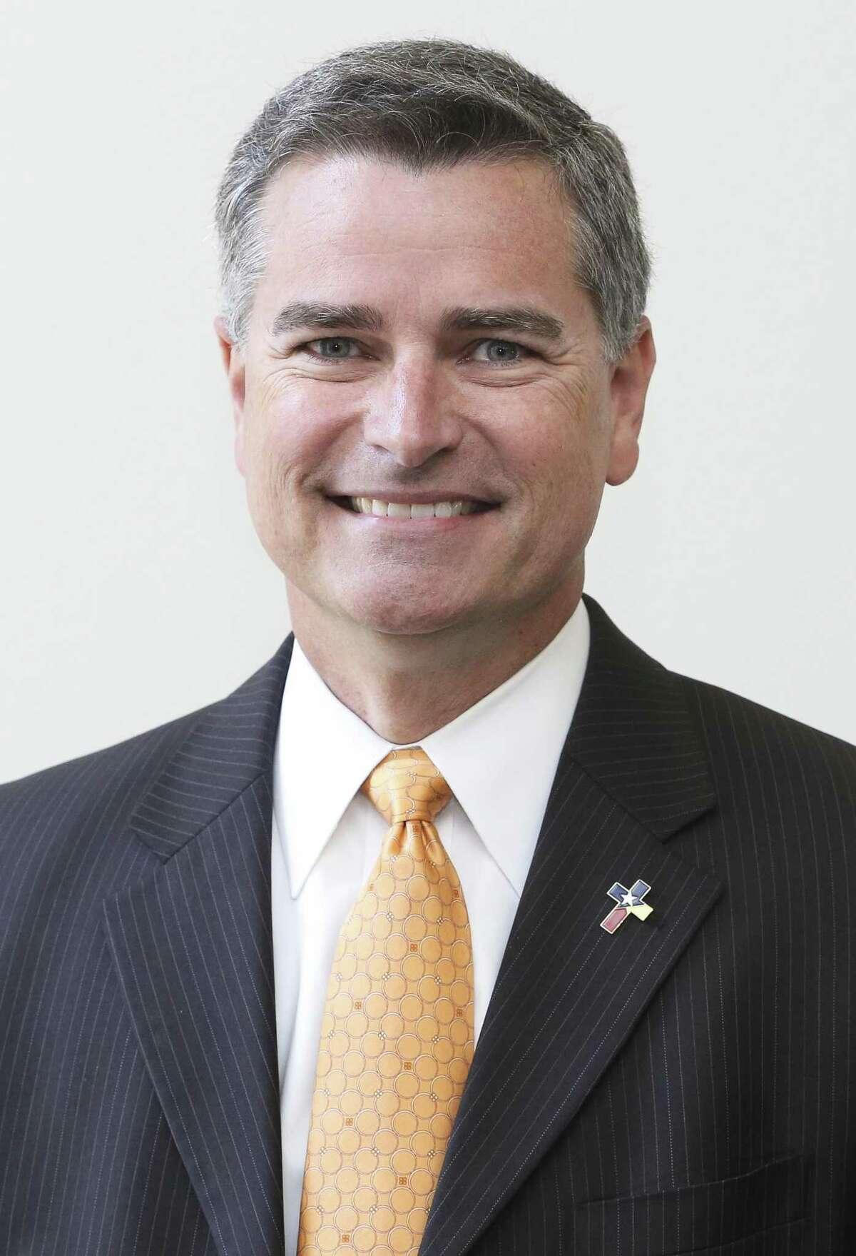 Josh Flynn, president of the Harris County Department of Education's board, on Thursday, Oct. 4, 2018, in Houston.