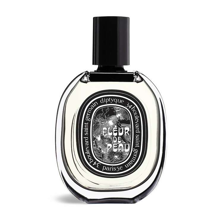 Diptyque's latest Eau Rose Solid perfume, available for Valentine's Day.