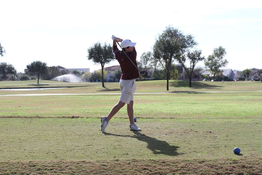 TAMIU's Parker Holekamp set a course record with a 65 in the second round of the Jack Brown Memorial building a five-stroke lead heading into Tuesday's final round at the Max A. Mandel Municipal Golf Course. Photo: Courtesy Of TAMIU Athletics