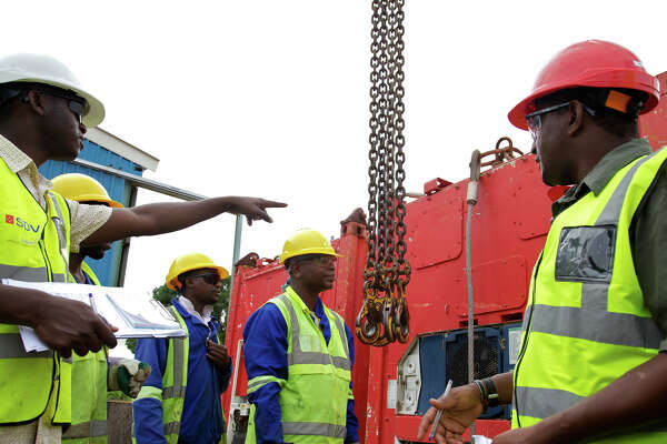 The Woodlands-based Anadarko Petroleum is developing a 12.88 million metric ton liquefied natural gas plant in Mozambique.