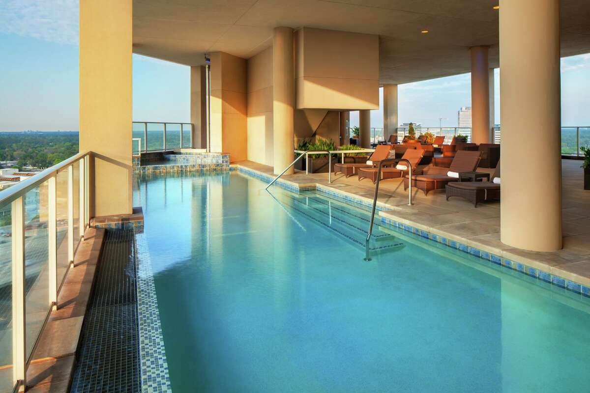 Click through the amenities at Houston's top 15 hotels 15. Westin Memorial City Where: 945 Gessner