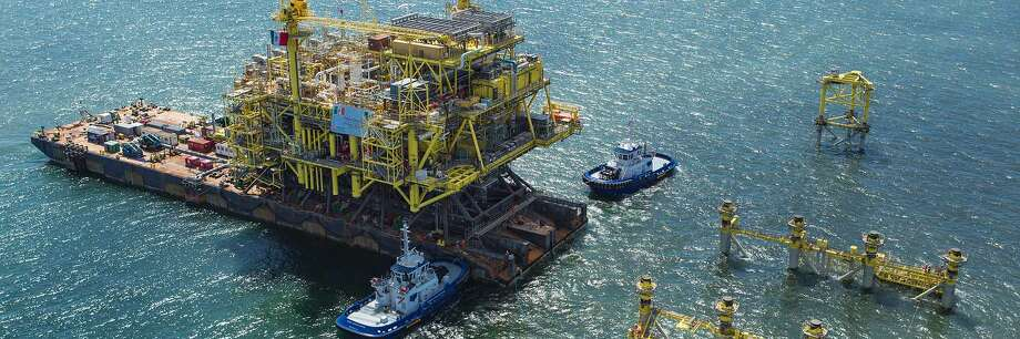 Rumors that Houston oilfield service company McDermott International is engaged in bankruptcy talks with lenders sent the company's stock price plummeting by as much as two-thirds of its value after the close of market on Monday. Photo: McDermott International