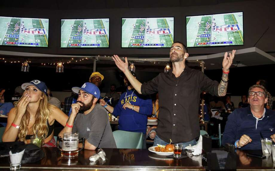 PHOTOS: Super Bowl rings through the years  For the fourth straight year, the broadcast audience dropped for the Super Bowl. An average of 98.2 million watched Sunday. >>>Browse through the gallery for a look at Super Bowl rings through the years ...  Photo: Ringo H.W. Chiu, FRE / Associated Press / Copyright 2019 Associated Press. All rights reserved.