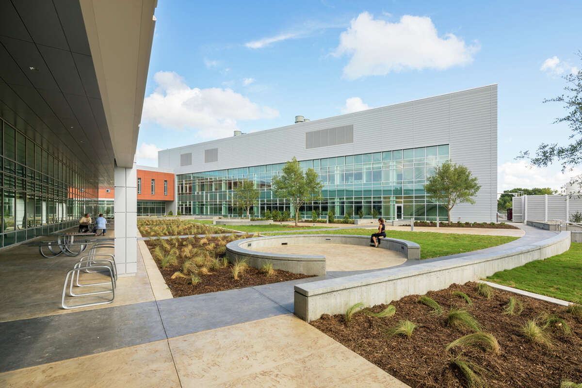 NASA Human Health & Performance Laboratory, LEED Silver, is a human health and environmental sciences laboratory, think tank, inventors' workshop, and outreach center designed to study human life on earth and in space.