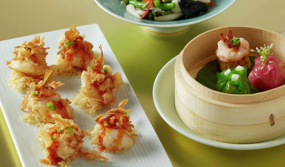 Yauatcha, the Chinese dim sum teahouse in the Galleria, is celebrating the Year of the Pig with special menu items.