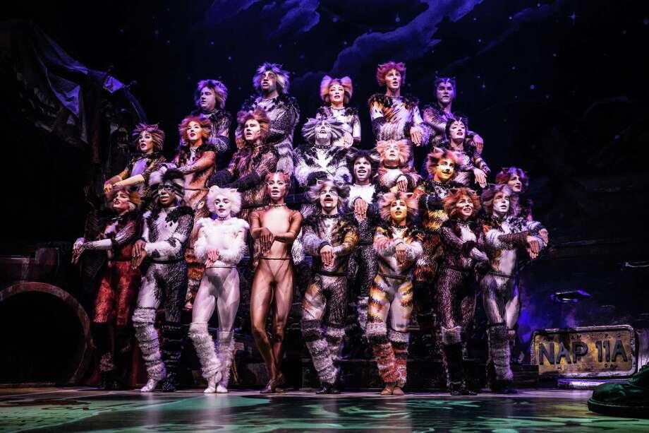 """Cats"" is returning to the Majestic Theatre. It will mark the singing kitties' ninth visit. Photo: Matthew Murphy /Matthew Murphy"