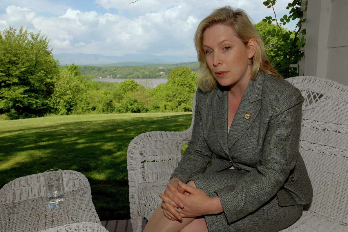 TIMES UNION PHOTO BY: LUANNE M. FERRIS-- Thursday, May 18, 2006, Greenport, NY, Kirsten Gillibrand, cq., has thrown her hat in the ring, to challange John Sweeney, cq., for his seat in the United States Congress, representing the 20th District. Reporter Tim O'Brien is writing a profile to centerpiece.