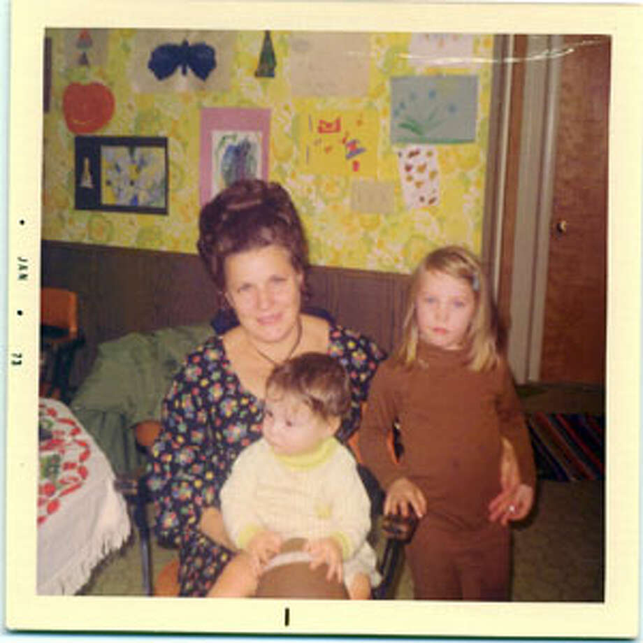 Polly Noonan with her granddaughter, U.S. Senator Kirsten Gillibrand, right. Noonan is holding Gillibrand's cousin, Joseph. (Courtesy of Gillibrand family)
