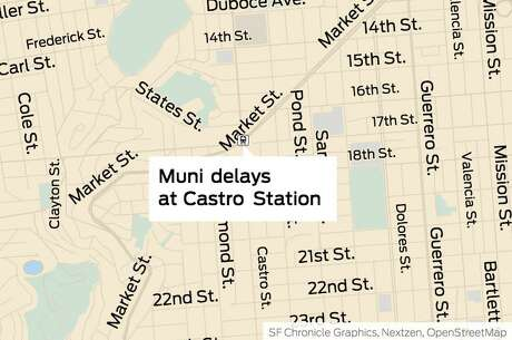 A switch issue at a Muni station caused subway service delays and triggered a severe traffic alert Tuesday morning, officials said. Photo: /