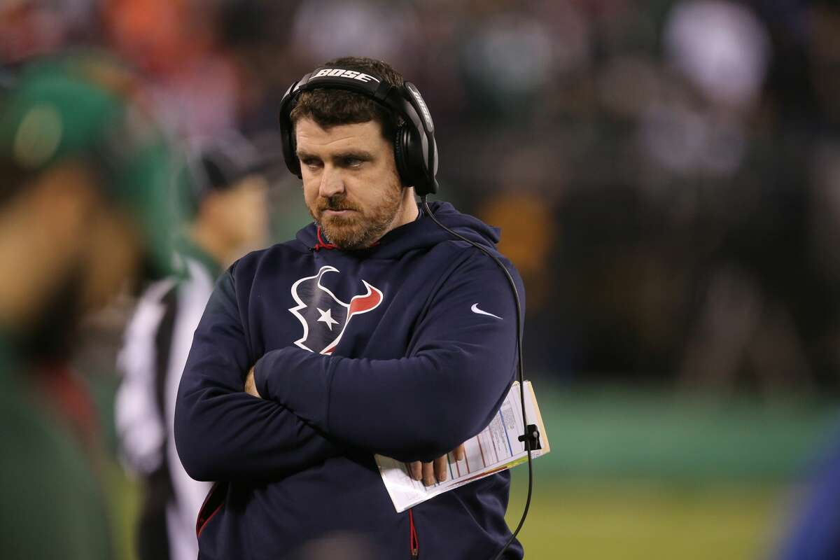 Tim Kelly was promoted from tight ends coach to offensive coordinator by the Texans, with the official announcement Tuesday.