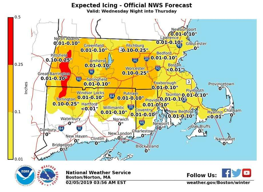 Temps to drop 30 degrees Tuesday night - Connecticut Post
