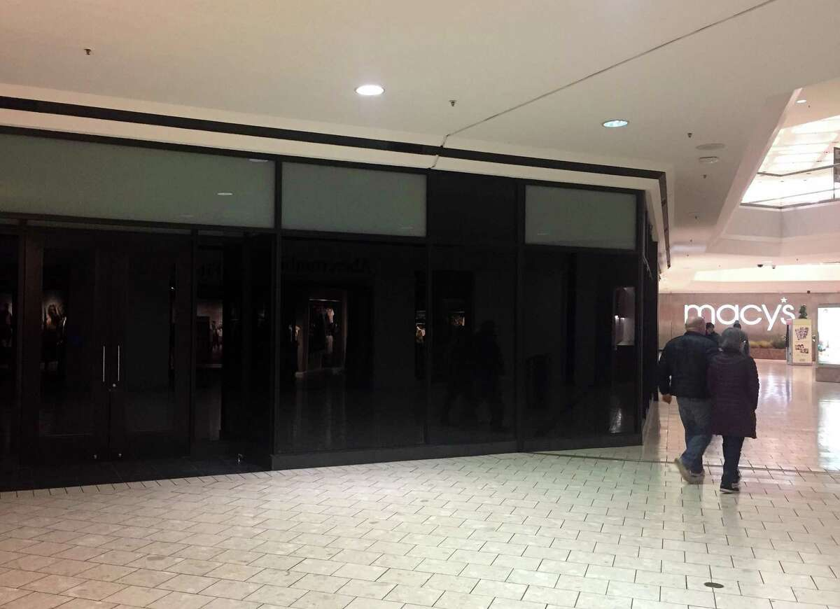 The J. Crew store at the Stamford Town Center mall closed on Jan. 27, 2019.