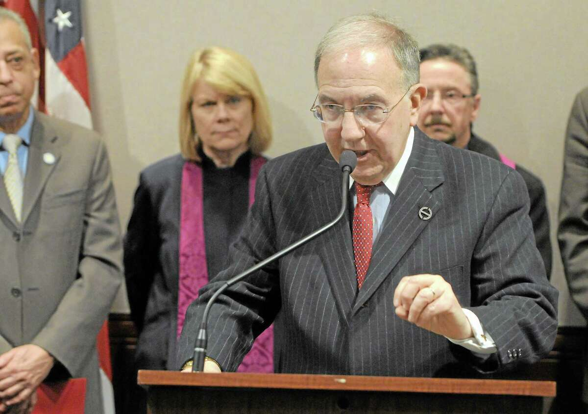 State Senate President Pro Tempore Martin Looney, D-New Haven, in a file photo.