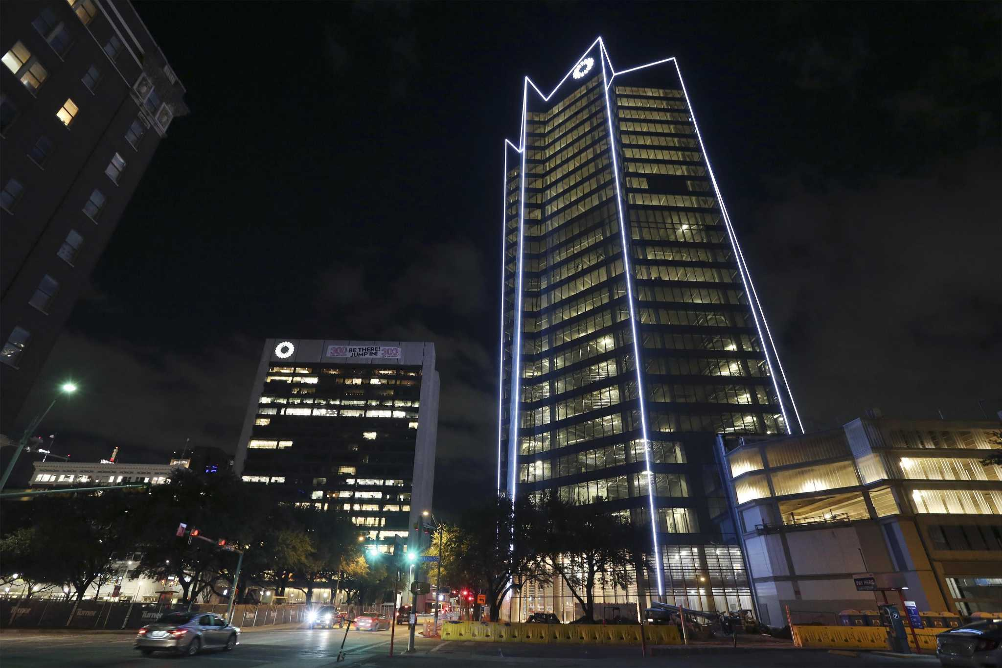 San Antonio S New Frost Bank Tower Gets Likened To Drill
