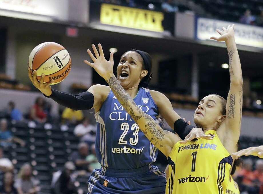 Former UConn great Maya Moore announced she is sitting out the 2019 WNBA season. Photo: Darron Cummings / Associated Press / Copyright 2017 The Associated Press. All rights reserved.