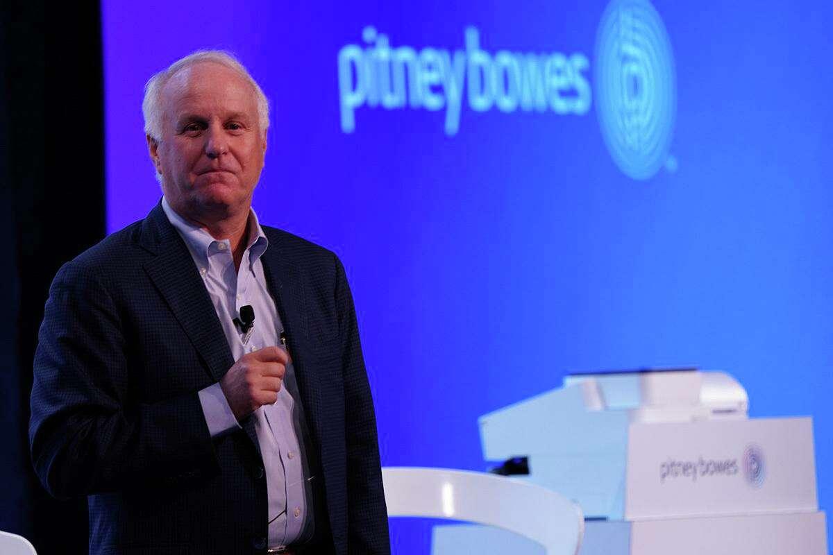 Pitney Bowes CEO Marc Lautenbach