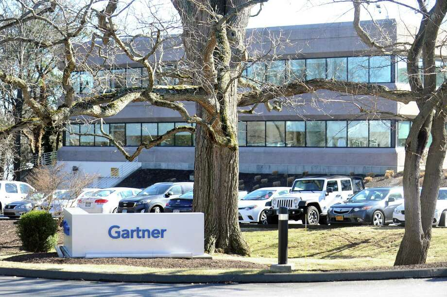 IT consulting and research firm Gartner is headquartered at 56 Top Gallant Road in Stamford, Conn. The firm predicts cloud-computing revenues will increase by more than 50 percent between 2019 and 2022. Photo: Michael Cummo / Hearst Connecticut Media / Stamford Advocate