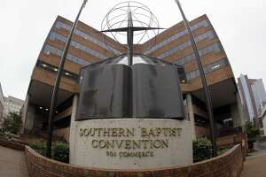 The headquarters of the Southern Baptist Convention is shown on Wednesday, Dec. 7, 2011, in Nashville, Tenn.
