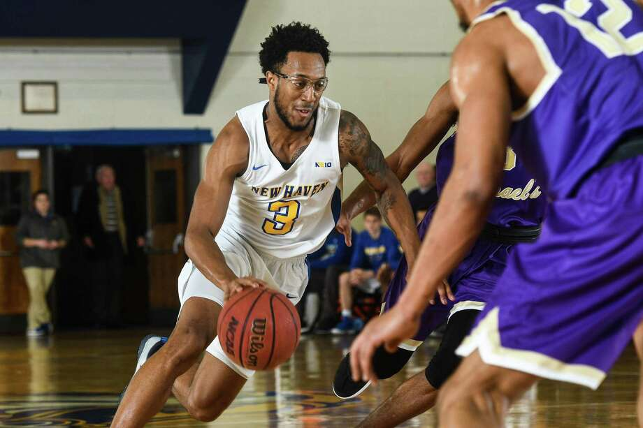 University of New Haven leading scorer Elijah Bailey will lead the Chargers into the NCAA Division II tournament. Photo: University Of New Haven Athletics / Contributed Photo / Greenwich Time Contributed