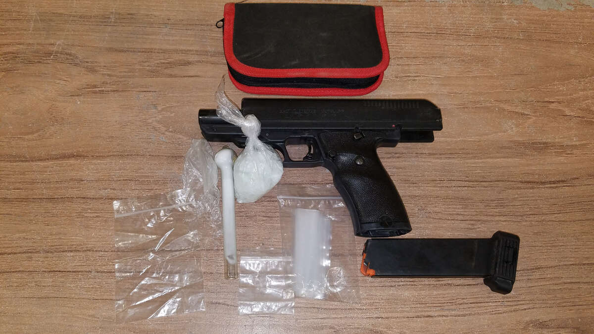 Kirbyville police officer Brian Gray uncovered a large amount of meth along with a firearm during a traffic stop.