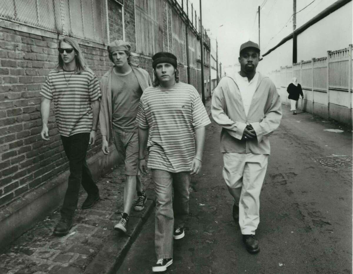 """Hootie & the Blowfish went from playing college town bars in the South to the top of the charts with their debut album """"Cracked Rear View."""""""
