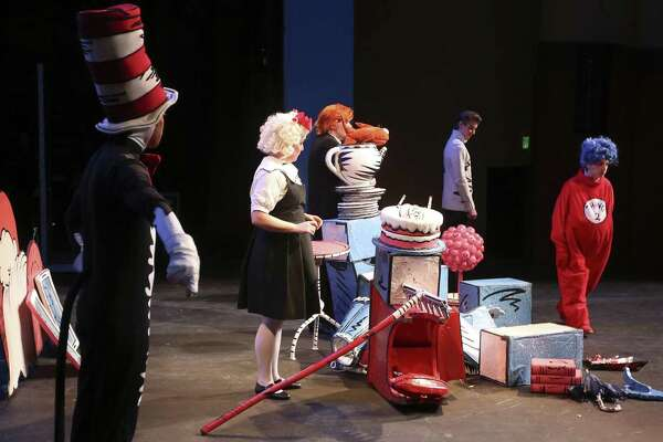 Its Busy Backstage For Cat In The Hat At Magik Theatre In San