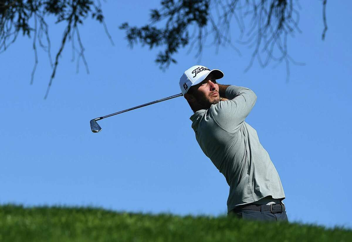 SAN DIEGO, CA - JANUARY 27: Max Homa plays his shot on the third hole during the second round of the Farmers Insurance Open at Torrey Pines South on January 27, 2017 in San Diego, California. (Photo by Donald Miralle/Getty Images)