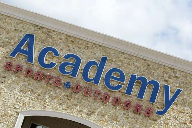 Academy Sports + Outdoors. 9734 Katy Freeway near Bunker Hill. Recognized in the Chronicle 100 special section as one of the biggest privately-held businesses based in Houston. ID: outside signage Wednesday May 14, 2014 (Craig H. Hartley/For the Chronicle)