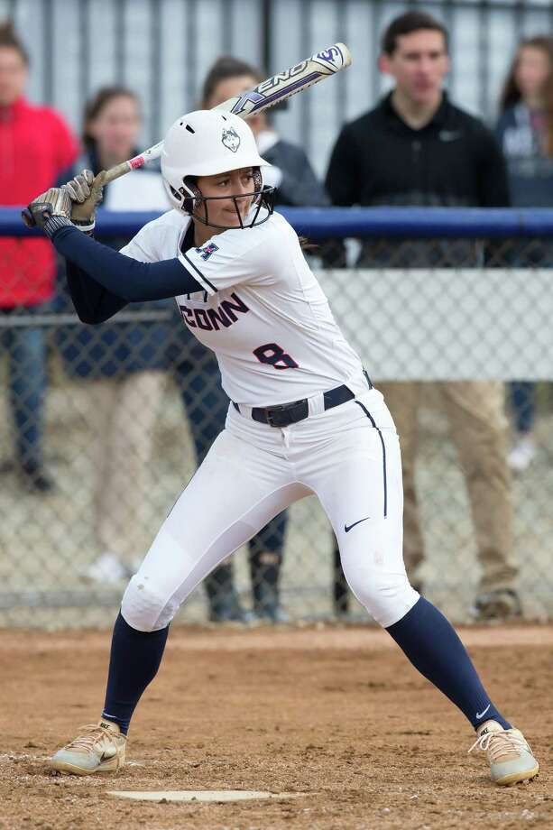 UConn sophomore infielder Briana Marcelino. Photo: UConn Athletics / Contributed Photo / Greenwich Time Contributed