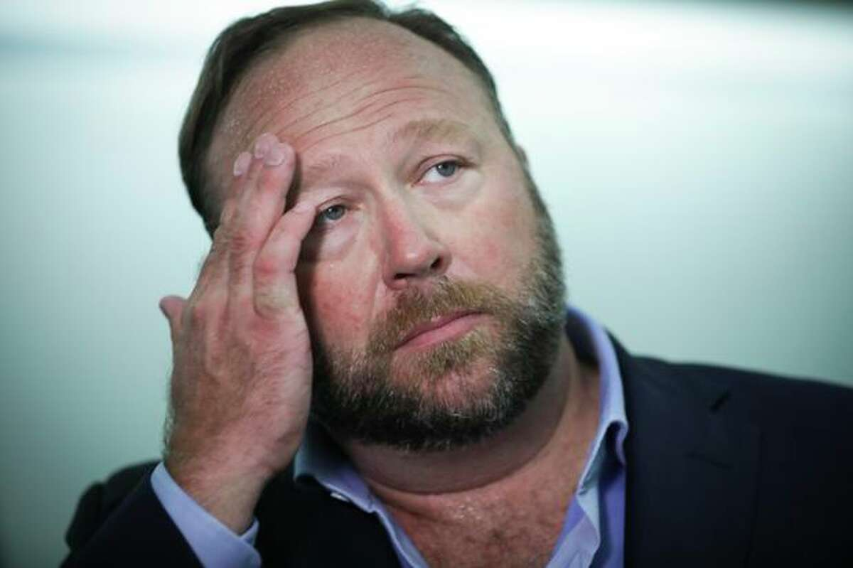 InfoWars founder Alex Jones.
