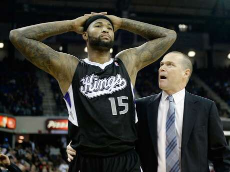 Cousins, then of Sacramento, was not consulted when the team fired coach Michael Malone (right) during the 2014-15 season. Photo: Thearon W. Henderson / Getty Images / 2013 / 2013 Thearon W. Henderson
