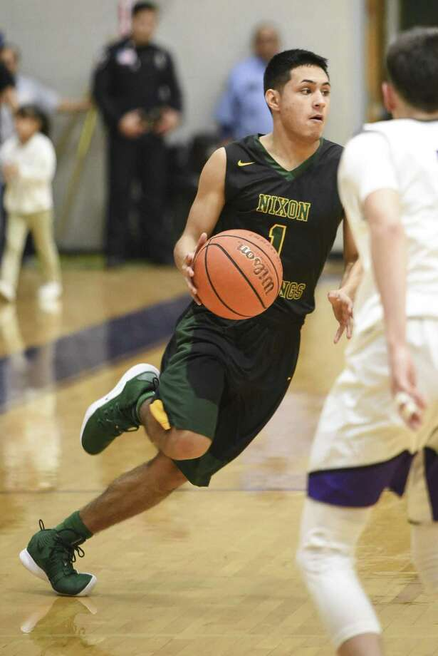 Jonathan Garcia and Nixon clinched a playoff spot in District 29-6A with their win over LBJ Tuesday. Photo: Danny Zaragoza /Laredo Morning Times