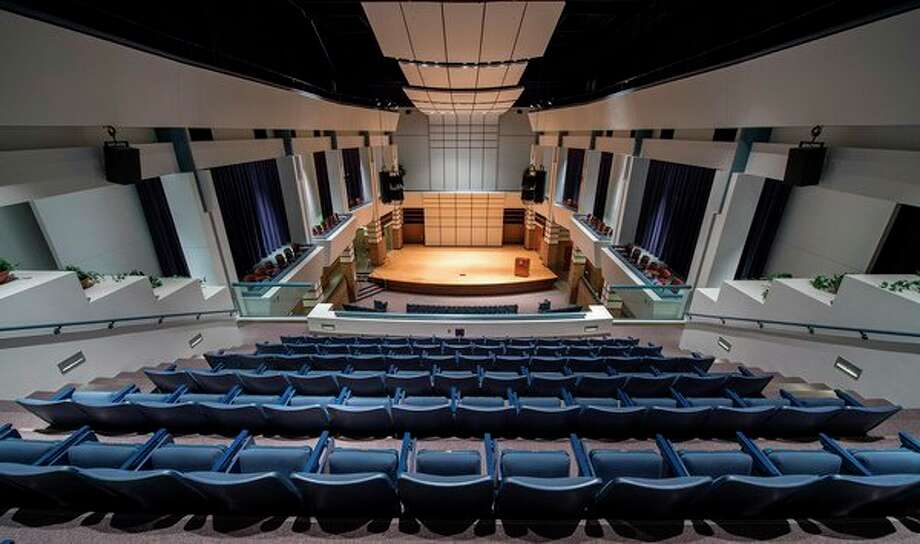 SVSU's Rhea Miller Recital Hall, which will serve as the venue for Friday's musical performance. (photo provided)