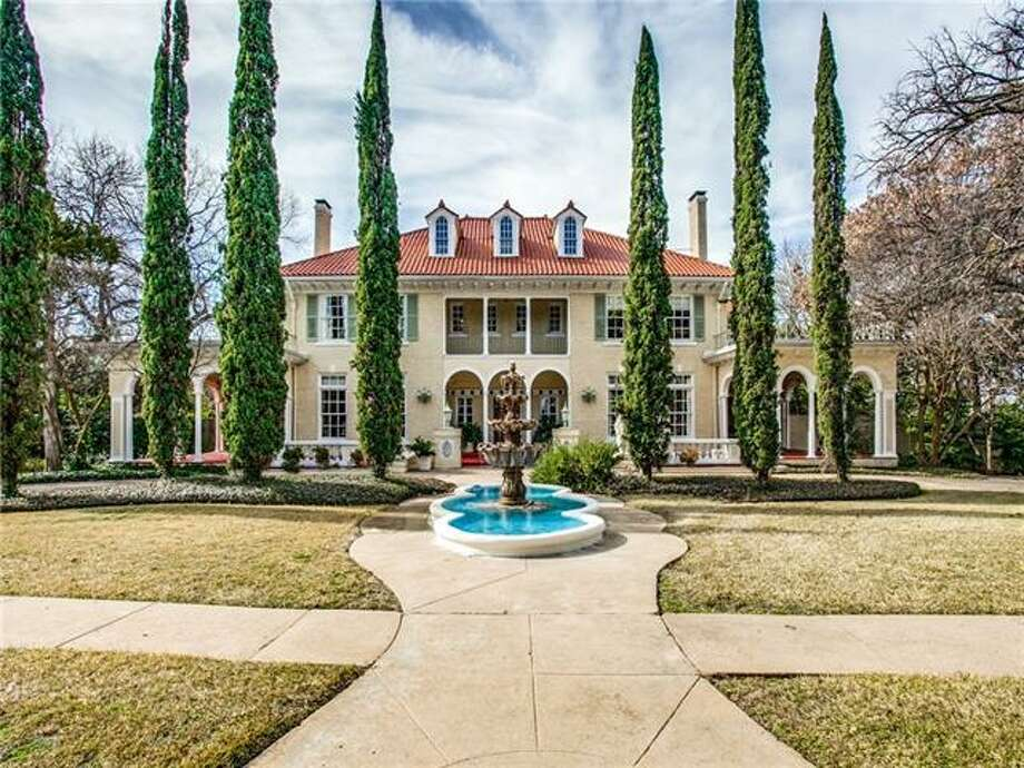 Historic Kessler Mansion, dubbed one of the 'Most Beautiful Homes in Dallas,' is back on the market. Photo: COLDWELL BANKER