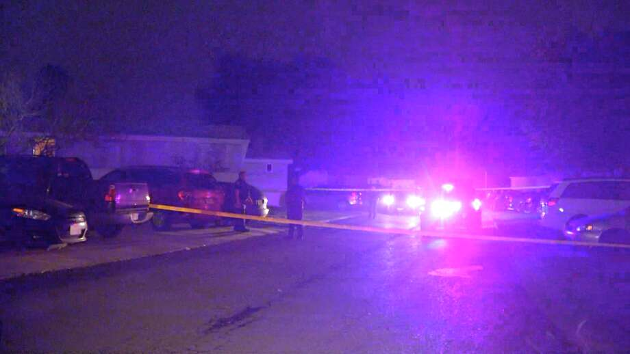 Two gunmen stormed into a Kirby home late Tuesday and shot three people, police said. Photo: Ken Branca