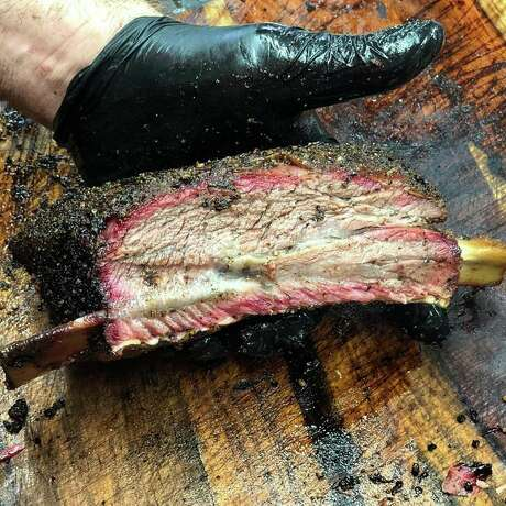 The new Brett's Barbecue Shop in Katy has been selling out of its smoked meats daily since opening four months ago at 606 S. Mason Road.