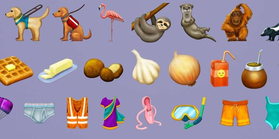 Here are the new emoji coming online later this year, with images from Emojipedia: Photo: Emojipedia
