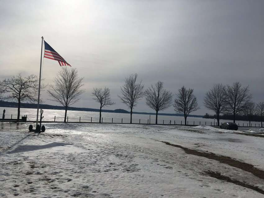 After scanning ice for an hour on Wednesday, Saratoga Springs Fire Chief Robert Williams said no one fell through ice on Saratoga Lake.
