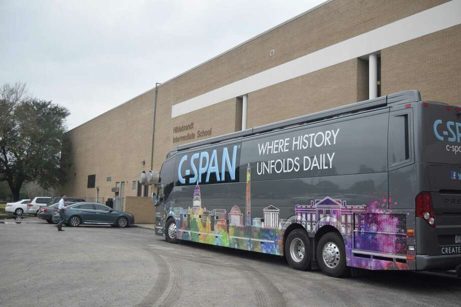 C-SPAN gave Klein students a look into the organization and a chance to apply what they've learned in class. Photo: Chevall Pryce