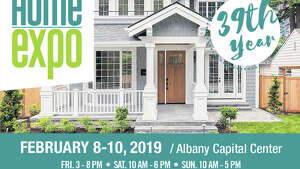 FREE PARKING  - this weekend at the Times Union Home Expo. Friday 2/8 3:00 PM – 8:00 PM, Saturday 2/9 10:00 AM – 6:00 PM and Sunday 2/10 10:00 AM – 5:00 PM at the Albany Capital Center located at 55 Eagle St. Buy your tickets online and save $4.00 for (2) tickets. Kids under 14 get in FREE! For further information visit  www.timesunionhomeexpo.com .