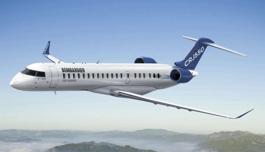 United will begin flying the new 50-seat CRJ550 in late 2019 Photo: Bombardier