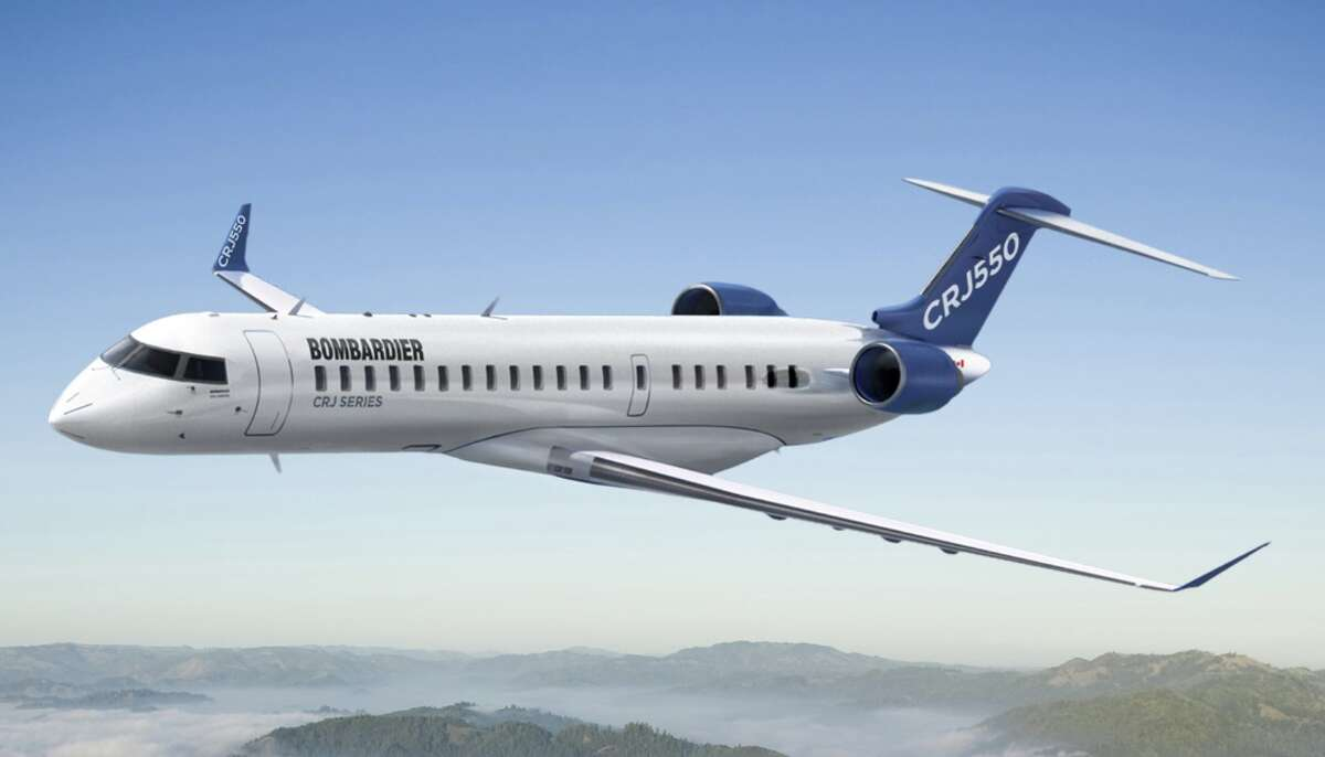 United will begin flying the new 50-seat CRJ550 in late 2019