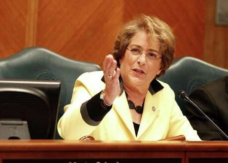City council member Ellen Cohen is the chief proponent of an ordinance that would bar Major League Baseball players from using smokeless tobacco at Minute Maid Park. The proposed measure was referred back to the Turner administration for possible revisions. ( Karen Warren / Houston Chronicle )